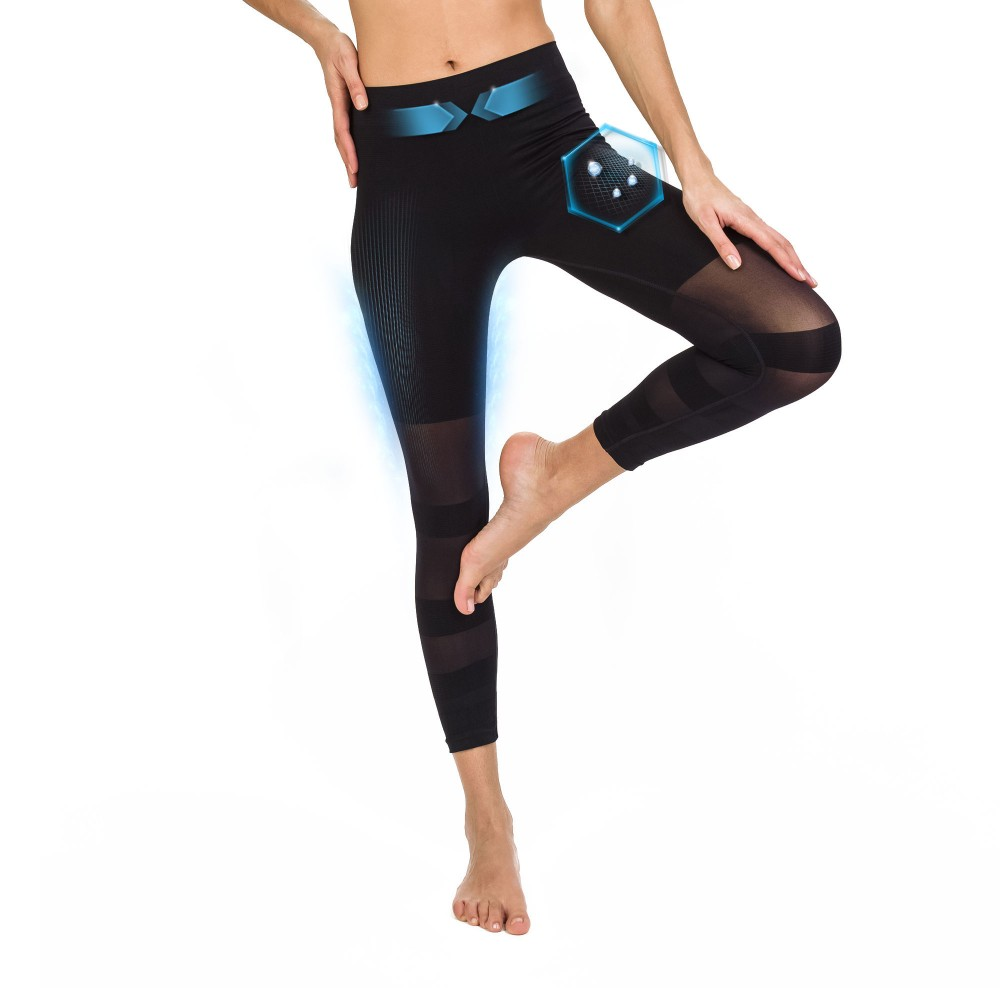 Straight laced slimming legging