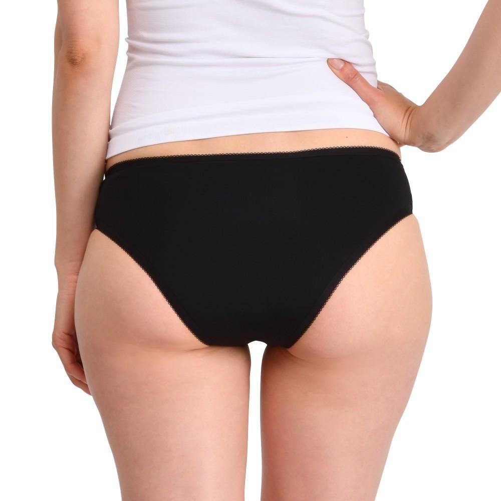 Culotte menstruelle Plumetis