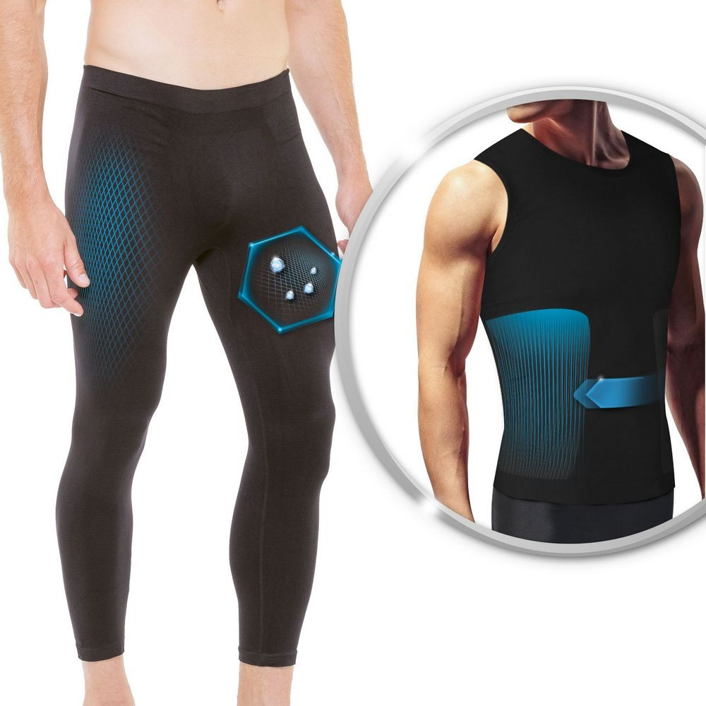 Set of sport cosmeto-ceramic® for men: legging + tank top
